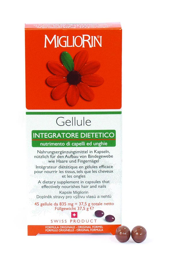 Migliorin Capsules for Hair and Nails